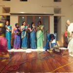 Students of Nandita Di Sing Traditional Monsoon Songs