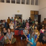Students of Nandita Di Sing Traditional Monsoon Songs