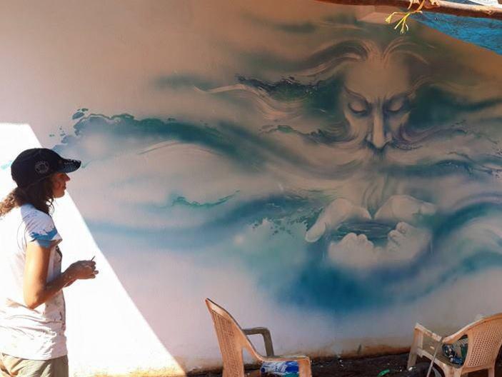 Photographer:web | Varuna the Hindu god of Sky and Waters by Marina Kovalyova