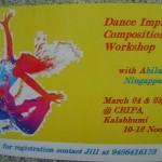 Workshops at CRIPA