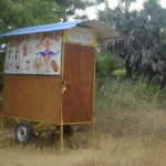 Hungarian Caravan, next to Amy's House at the Well in International Zone