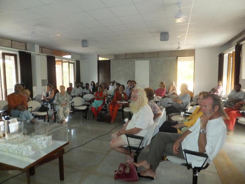 Photographer:Laura | Presentation of Kalpana Housing Project at SAIIER