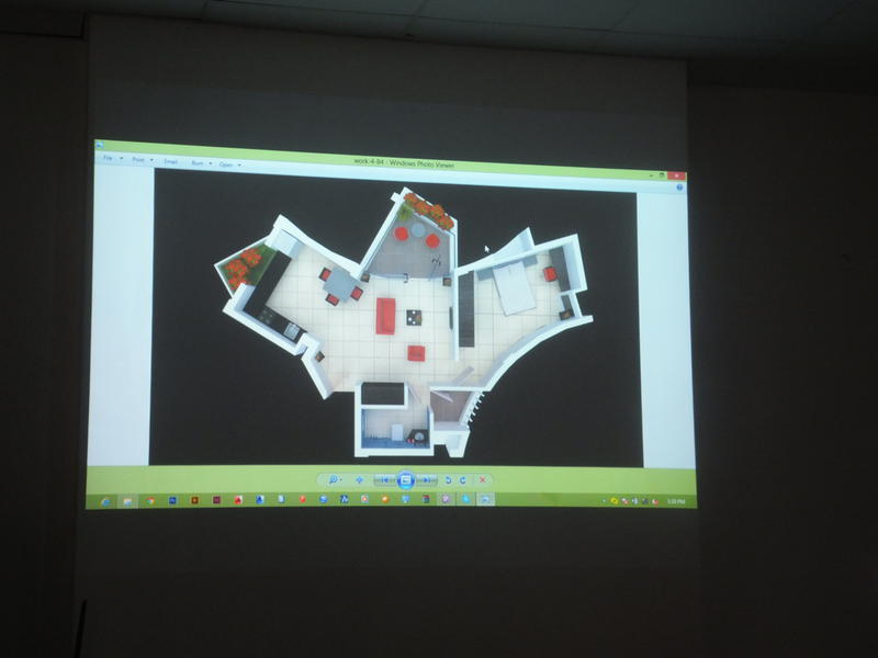 Photographer:Laura | One Bedroom Unit Floor Plan