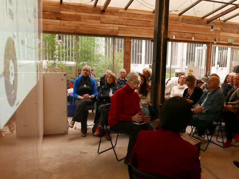 Photographer:AVIF | Café Auroville à l'Atelier Fil Rouge (Paris 12e)