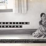 Month long festival at Adishakti remembering Veenapani Chawla