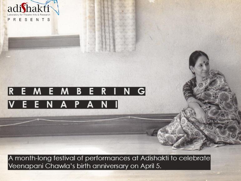 Photographer:Alena   Month long festival at Adishakti remembering Veenapani Chawla