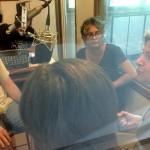 From left: Eric Allodi, Renu and