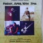 NAthali John Quartet at Solitude Farm on 10th