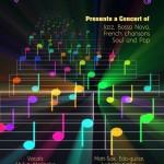 Vocal Colours at Sri Aurobindo Auditorium on 11th at 8pm
