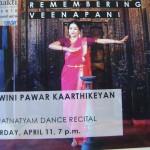 Adishkati Bahratnayam dance recital 11th