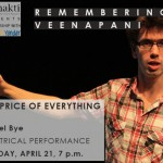 The Price of Everything at Adishakti on 21st at 7pm