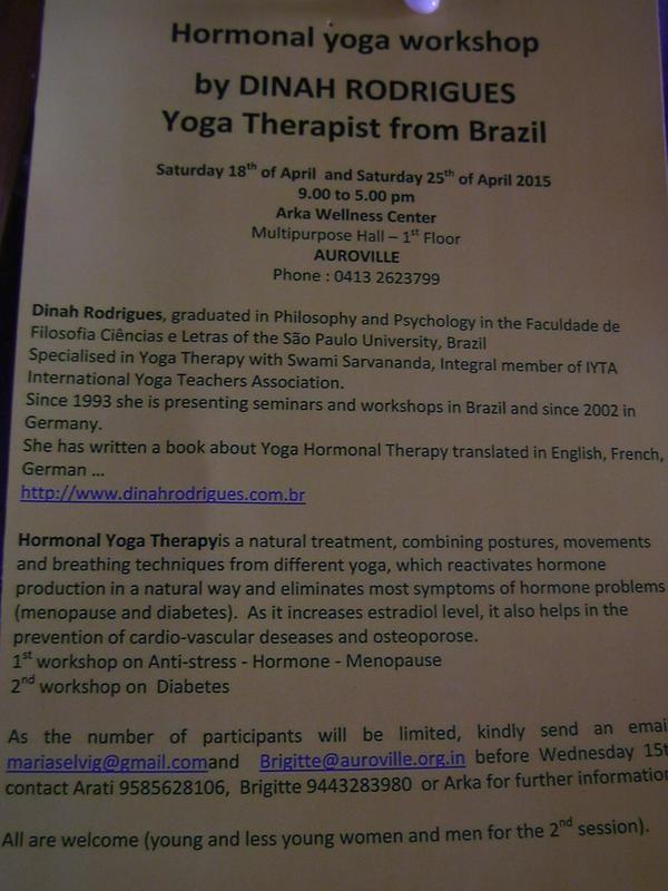 Photographer:Barbara | Hormonal Yoga Workshop