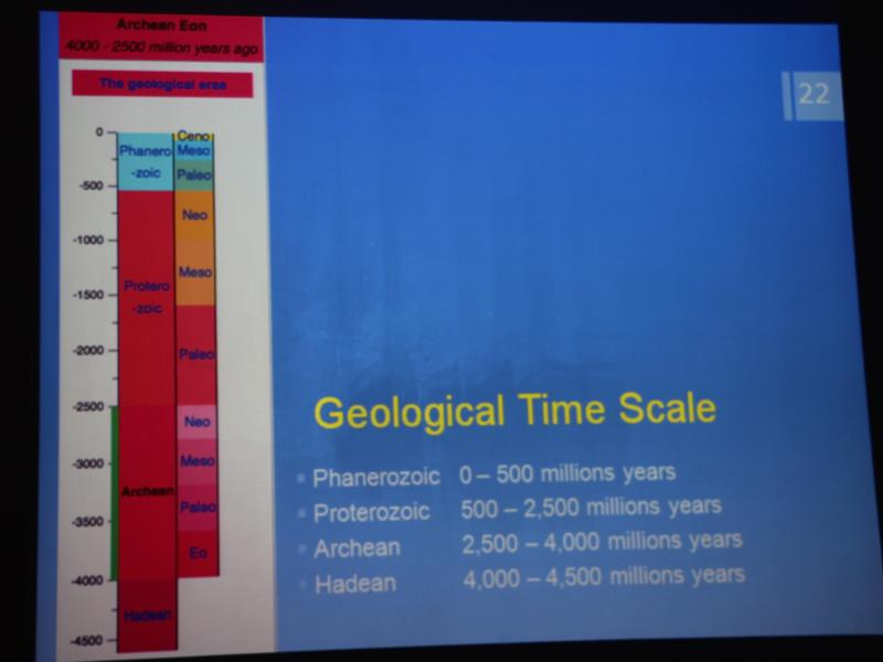 Photographer:Roland | Geological Time Scale