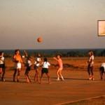 Aspiration Basket ball court around 1975