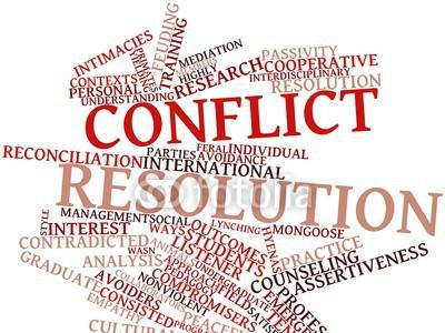 Photographer:web | Conflict Resolution Policy