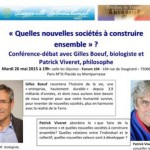 Une Conference le 26 Mai a Paris