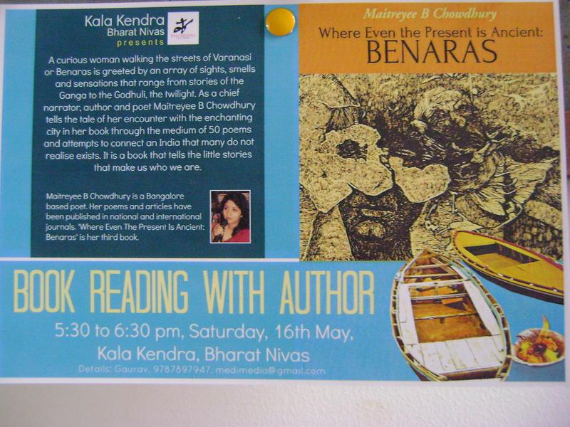 Photographer:Barbara | 16th at 5.30pm at Kala Kendra, Bharat Nvias, Pavilion of India, International Zone book reading
