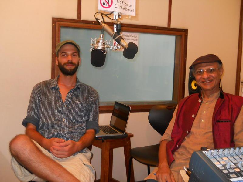 Photographer:renu | Felix and Aryadeep at the studio