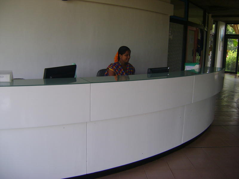 Photographer:web | New reception desk in Town Hall
