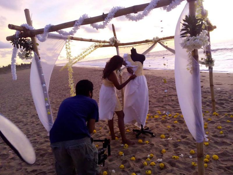 Photographer:Lilith Fashion School | Early morning shoot at the beach