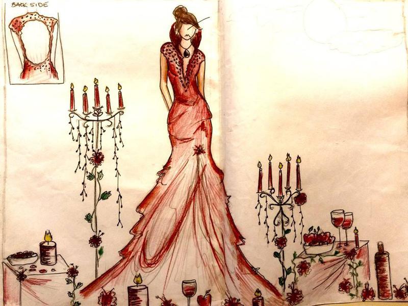 Photographer:Lilith Fashion School | A sketch
