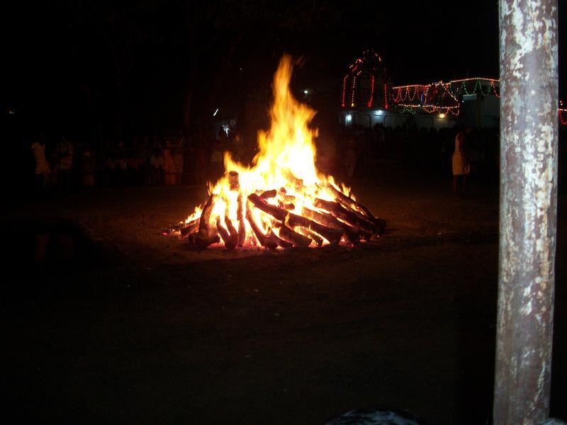 Photographer:Barbara | Fire Walking today at 6pm at Sanjeevinagar Temple Festival