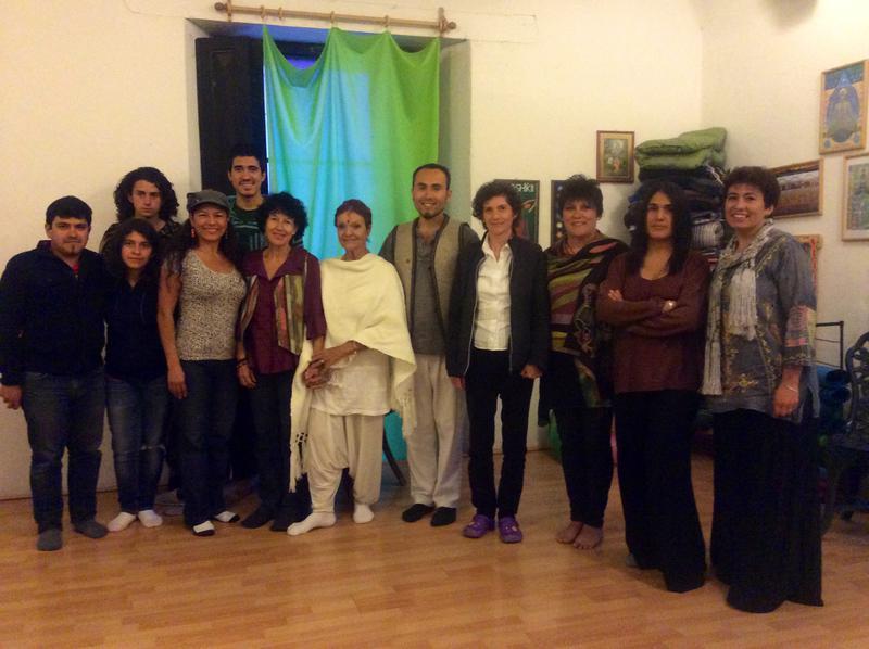 Photographer:Via Anandi | Casa Plena Chiapas Mexico attendants at the conference with Anandi