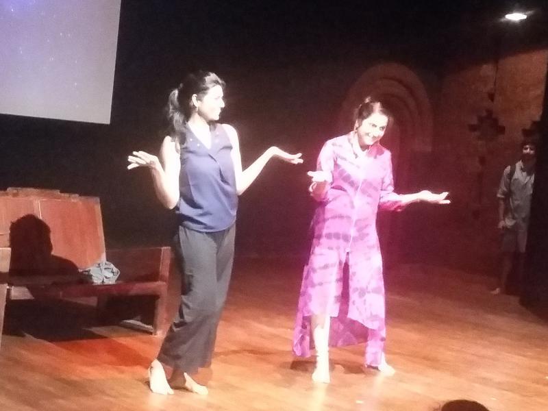 Photographer:Aparna | Suhasini on stage