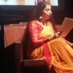 Suhasini on stage