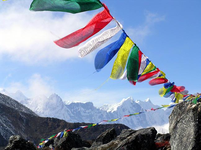 Photographer:web | Tibetan praying flags