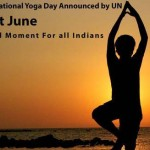 21st of June, an International Day of Yoga