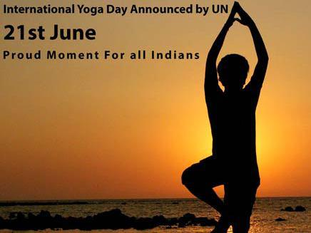 Photographer:web | 21st of June, an International Day of Yoga