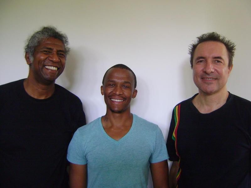 Photographer:Zarin |  Thierry Moucazambo, Irven Morapedi Teme and Philippe Pelen Baldini,