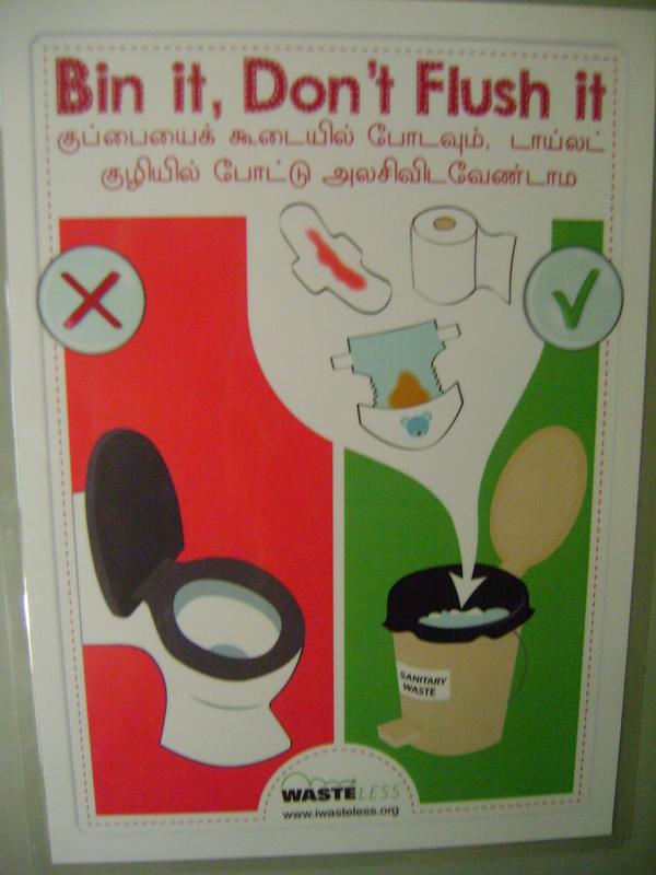 Photographer:Martha | WasteLess & EcoFemme teams addressing  sanitary waste and its management