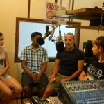 Aloe, Rishi, Andrea and Luca