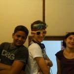 (from left) Rishi Luca Aloe