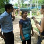 Discussing Aurovilles environment