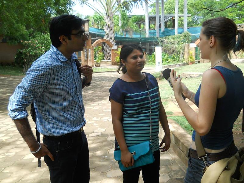 Photographer:Edo   Discussing Aurovilles environment