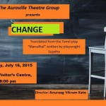 Change at Visitor's Centre on Thrusday at 8pm