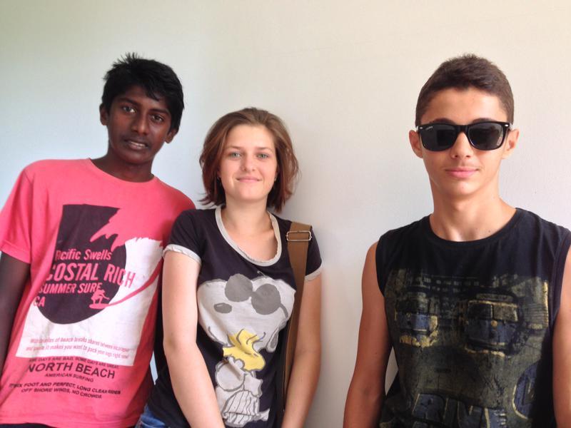 Photographer:Andrea | From left: Auroson, Tara & Edo