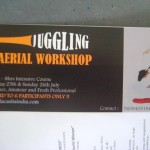Aerial workshop adn juggling