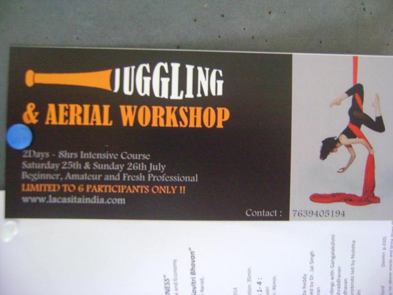 Photographer:Barbara | Aerial workshop adn juggling