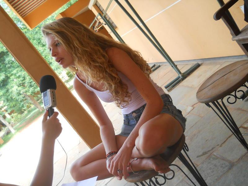 Photographer:Ayesha | Interviewing Leela