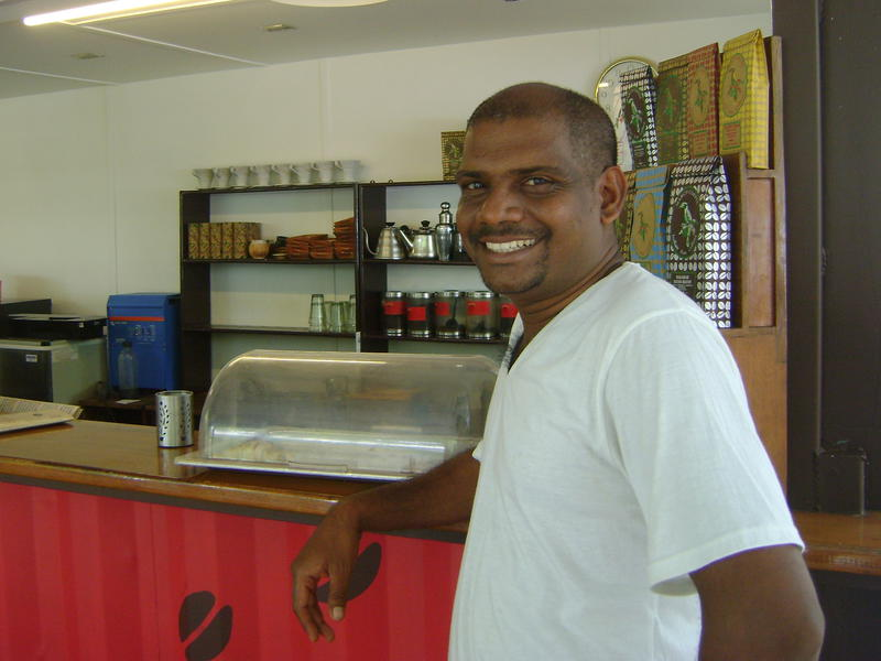 Photographer:Antonio | Selvam at Dreamer's Cafe at the Visitor Center