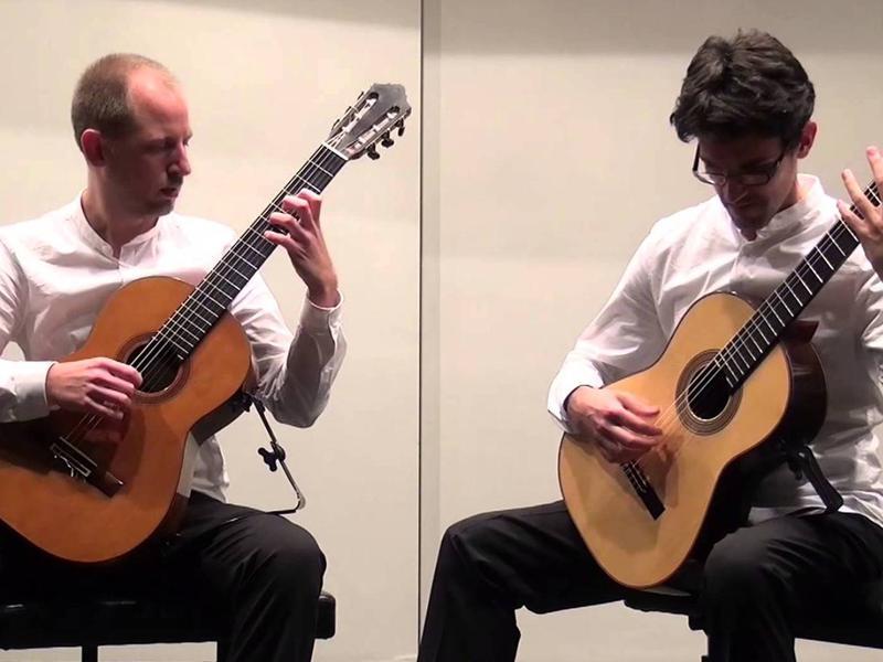 Photographer:web   Bartoli Fodera duo - classical concert tonight at 8pm at CRIPA