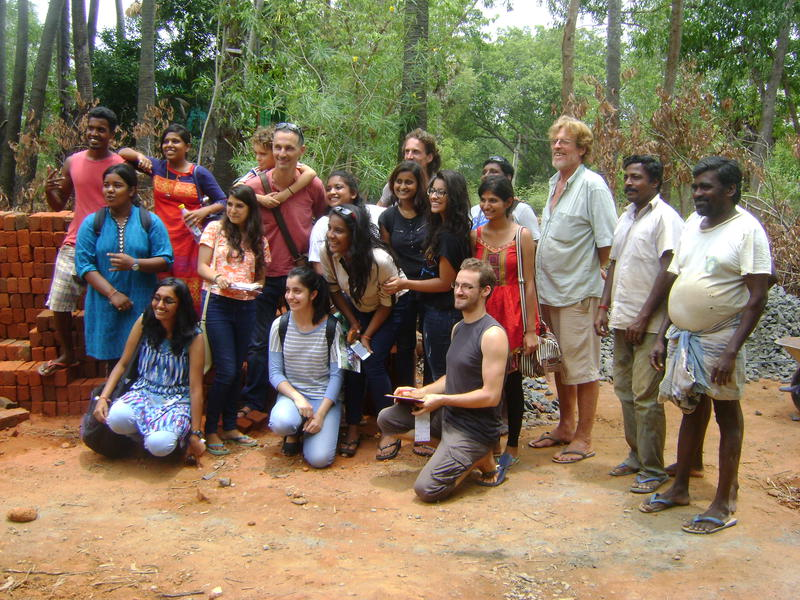 Photographer:Tabitha | participants of the AV Green Practices Summer School on the Africa House site