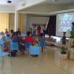 presentation at Unity Pavilion