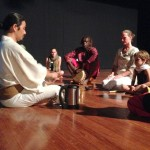 Japanese tea ceremony before the event