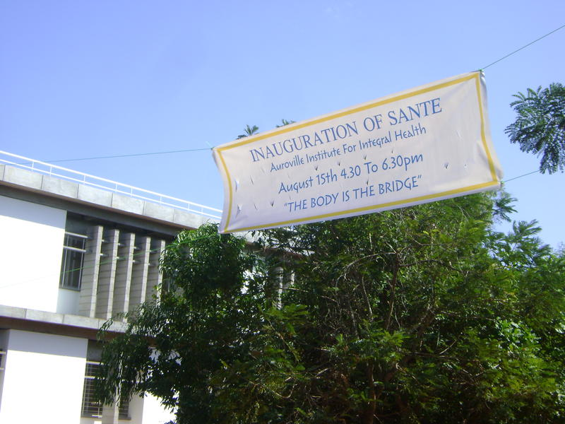 Photographer:Amadea   inauguration of SANTE on 15th