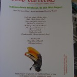 The Norht East Food Festival on 15th